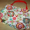Bevásárló táska, Baba-mama-gyerek, Táska, Szatyor, Válltáska, oldaltáska, Minőségi designer anyagból varrtam ezt a praktikus textil táskát. Nagyon nagy segítség lehet bevásár..., Meska