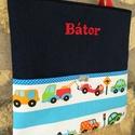 Mintás tatyó , Baba-mama-gyerek, Táska, Szatyor, Válltáska, oldaltáska, Minőségi designer anyagból varrtam ezt a praktikus textil táskát. Nagyon nagy segítség lehet a babah..., Meska