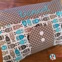 Új Desing - XXL Pelenkatáska, Pelenkatartó táska, Baba-mama-gyerek, Naptár, képeslap, album, Baba-mama kellék, Extra méretű amerikai, minőségi designer textilből készült pelenkázó táska.  A popsitörlős rész cipz..., Meska