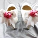 Masni cipőklipsz strasszokkal, Esküvő, Cipő, cipőklipsz, Masni cipőklipsz strasszokkal  A cipőd ékszere lehet ez a remek darab.  A cipőklipsz olyan, mint..., Meska