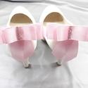 Rózsaszín masni cipőklipsz,Világos rózsaszín cipődísz, Esküvő, Cipő, cipőklipsz, Rózsaszín masni cipőklipsz,Világos rózsaszín cipődísz  Méretek: Hossza:9,7 cm Magassága:10..., Meska