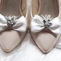 Masnis cipőklipsz strasszokkal, Ékszer, Esküvő, Cipő, cipőklipsz,  Masnis cipőklipsz strasszokkal  A cipőd ékszere lehet ez a bájos darab.   A cipőklipsz olyan, ..., Meska
