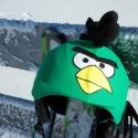 Zöld Angry Birds sisakhuzat univerzális méretben, XS-XXXL bukósisakokra tervezve, Ruha, divat, cipő, Gyerekruha, Gyerek (4-10 év), Kendő, sál, sapka, kesztyű, ANGRY BIRDS sisakhuzattal igazán vagánnyá és különlegessé varázsolhatod bukósisakodat!  Rugalmas ela..., Meska