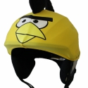 Sárga Angry Birds sisakhuzat univerzális méretben, XS-XXXL bukósisakokra tervezve, Ruha, divat, cipő, Gyerekruha, Gyerek (4-10 év), Kendő, sál, sapka, kesztyű, Varrás, ANGRY BIRDS sisakhuzattal igazán vagánnyá és különlegessé varázsolhatod bukósisakodat!  Rugalmas el..., Meska