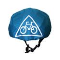 Kerékpáros vízlepergető sisakhuzat 12 választható színben, Ruha, divat, cipő, Gyerekruha, Gyerek (4-10 év), Kendő, sál, sapka, kesztyű, Varrás, Egyszínű, vízlepergető sisakhuzat 12 választható színben.  Reflektív jelölésekkel a jobb láthatóság..., Meska