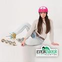 Pink róka sisakhuzat gyerekeknek, XS-M bukósisakokra tervezve, Ruha, divat, cipő, Gyerekruha, Gyerek (4-10 év), Kendő, sál, sapka, kesztyű, Varrás, Pink RÓKA sisakhuzattal vidámmá varázsolhatod gyermeked bukósisakját! Rugalmas elasztikus anyagból ..., Meska
