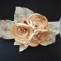 Csipke öv arany virágokkal, Megrendelt termék, amennyiben ilyen övet szeretn...