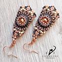 Keleti talizmán fülbevaló, Ezt a különleges alakú, izgalmas színvilágú ...
