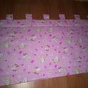 rózsaszín  masnis  HELLO KITTY   falvédő , Baba-mama-gyerek, Gyerekszoba, Falvédő, takaró, rózsaszín masnis HELLO KITTY :falvédő   : 200x60+fülecskék  /-3rétegű  ÚJ Remek ajándék!!..., Meska