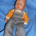 BADYS pamut szett : 35cm játékbabára   , Játék, Baba játék, Badys pamut szett : 35cm játékbabára   kb:33-35 cm babához ajánlott méretben  pamut anyagból ..., Meska