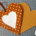 Hímezhető függődísz - szív forma - Nincs postaköltség!, Dekoráció, Ünnepi dekoráció, Választható más színben, más mintával is. Erről érdeklődj az eladónál!  A csomagok tartalma: - hímez..., Meska