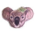 Gyerekpárna koala formapárna, állatos ölelős párna gyerekeknek, állatos párna (kb. 30 x 40 cm), Otthon & lakás, Gyerek & játék, Gyerekszoba, Játék, Plüssállat, rongyjáték, KÁROLY, A KOALA - saját tervezésű, festett illusztrációval készített állatfigurás párna  • mérete: k..., Meska