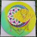 """A """"NŐ"""" Kristálymandala , Dekoráció, Kép,  A NŐ! Nekem ezt adja ez a mandala. Ásványokkal díszítve (holdkő, citrin, zöld jade) 30 cm á..., Meska"""