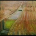 """""""Ablakok 1"""" festmény, Képzőművészet, Festmény, Napi festmény, kép, Festészet, 70x100 cm-es feszített vászonra festett olajfestményem. Ez a téma -ablakok- régóta foglalkoztat. A ..., Meska"""