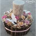 Erdei fények EPERHAB virágbox asztaldísz , Őszi estékre gondolva készítettem ezt a szép ...