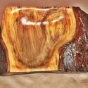 Otthoni mini bonszai bonsai kert tartó márvány hatású fa extra különleges rusztikus faragott elmosható egzotikus fatál