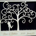 Esküvői egyedi ajándék 500, Dekoráció, Esküvő, Ünnepi dekoráció, Nászajándék, Egyedi felirattal kérhető esküvői ajándék Mérete 56*52 cm Anyaga fa lemez 6 mm vastag  Küld el a nev..., Meska