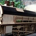Borosdoboz lokomotív, Férfiaknak, Sör, bor, pálinka, Lokomotív formájú borosdoboz. Fa lemezből készült 4 mm vastag. Felületkezelve. Mérete 48 cm hosszú 2..., Meska