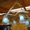 Mennyezeti lámpa, Rusztikus stílusú különleges mennyezeti lámpa...