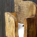 Papírzsebkendő tartó, Tömör fából készült falra akaszthatós ruszt...