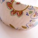 Virágos karperec Ági részére lefoglalva!!!, Ezt a fehér alapon színes virágos karkötőt de...