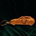 """Kulcstartó """"Renault""""!, Pyrograph lézertechnológiával megrajzolt,majd t..."""