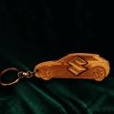 """Kulcstartó """"Suzuki""""!, Pyrograph lézertechnológiával megrajzolt,majd t..."""