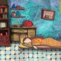 Délutáni álom , Baba-mama-gyerek, Otthon, lakberendezés, Képzőművészet, Gyerekszoba,  Kis peldanyszamban nyomtatott reprodukcio. Meret- A4.  10 ezer forint feletti vasarlas eseten a pos..., Meska