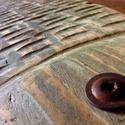 Méteres pikkelyes :), Kb. 105x30 cm. Egyedi, rusztikus, fa dekoráció. ...