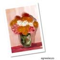 Egy csokor virág AKCIOS!, Dekoráció, Képzőművészet, Otthon, lakberendezés, Illusztráció, Polcseprest tartok, ezert ez az illusztraciom most akciosan megvasarolhato!  Kis peldanyszamu nyomat..., Meska