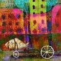 Hal járat, Dekoráció, Képzőművészet, Kép, Illusztráció, Kis peldanyszamban nyomtatott reprodukcio. Meret- A4.  10 ezer forint feletti vasarlas eseten a post..., Meska