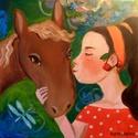 Cseresznye, Otthon, lakberendezés, Képzőművészet, Falikép, Festmény,  Eredeti acrylic festmenyem vasznon.  Kepmeret  30  x 30 cm  A kepet rusztikus kerettel is kerheted,..., Meska
