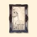 Tábori kaland  AKCIOS !, Otthon, lakberendezés, Képzőművészet, Napi festmény, kép, Falikép, Festészet, Fotó, grafika, rajz, illusztráció, Eredeti  grafikam. Papiron.  Meret : kb 27.5   x 16 cm. A keret csak illusztracio !  ajanlottan pos..., Meska