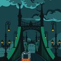 Budapest Szabadság híd poszter, Otthon & lakás, Képzőművészet, Illusztráció, Lakberendezés, Falikép, Fotó, grafika, rajz, illusztráció, Imádod a Szabadság híd varázslatosságát, és a budapesti utcaképek látványa is feltüzel? Akkor ez a ..., Meska