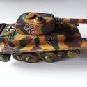Fatank - Panzer II 'Luchs' (Hiúz) 1/30 , Játék, Fajáték, Famegmunkálás, Egyedi készítésű, méretarányos, valósághű, strapabíró fatank  Második világháborús német Panzer II ..., Meska