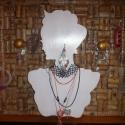 """""""silhouette"""" ékszertartó, Dekoráció, Otthon, lakberendezés, Ékszer, óra, Ékszertartó, Famegmunkálás, Festett tárgyak, """"The diamonds are a girl's best friends"""" énekelte Marilyn az örök igazságot... és ha gyémántot nem ..., Meska"""