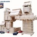 2 cs.  LOGI-VÁR logikai építő játék (172 elem), Baba-mama-gyerek, Játék, Gyerekszoba, Logikai játék, Famegmunkálás, Mindenmás, Otthoni használatra javasolt mennyiség. 2 csomag logikai fa építő játék már összetettebb építmények..., Meska