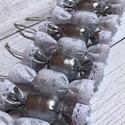 Textil szaloncukor /szett: 10 db/, TEXTIL SZALONCUKOR  Egyedi textil szaloncukrok ela...