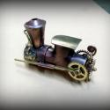 Steampunk-lokomotív pendrive