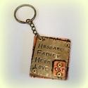 Kétoldalas kulcstartó férfiaknak , Férfiaknak, Ékszer, óra, Medál, Valami apróság tőled-Neki... Ráadásul még használni is lehet, ráakaszthatja a kulcsait:)  Ha akarom ..., Meska