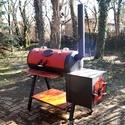 BBQ smoker, Férfiaknak, Konyhafelszerelés, Konyhafőnök kellékei, Elkészült végre a várva várt  barbecue smoker (barbekjú szmóker)!   Annyit hallottam már róla, meg i..., Meska