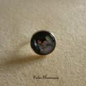 Shalott kisasszonya (gyűrű, 18 mm), Ékszer, Gyűrű, Ékszerkészítés, Agatha Christie A kristálytükör meghasadt című regénye alapján készítettem ezt a gyűrűt. A képet üv..., Meska