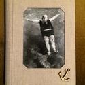 Fürdőzés - könyv, Naptár, képeslap, album, Jegyzetfüzet, napló, Könyvkötés, Kézzel, cérnára fűzött fehér színű lapokkal készült (üres lapos) könyv  Mérete: 15*21 cm Oldalszám:..., Meska