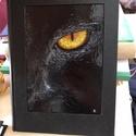 """Cica, Férfiaknak, Otthon & lakás, Naptár, képeslap, album, Jegyzetfüzet, napló, K417 – Fekete cica Méret: 16*21,5 cm 240 oldal  """"A macska annak a képességének köszönhetően, hogy sö..., Meska"""