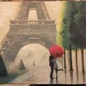 Párizs, Esküvő, Otthon & lakás, Nászajándék, Naptár, képeslap, album, Jegyzetfüzet, napló, K244 - Párizs Méret: 18*15 cm Lapok: 220 fehér oldal  Oly sok arca van Párizsnak. A kultúra, a művés..., Meska