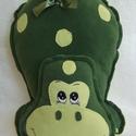 Zöld Dinó- mesepárna