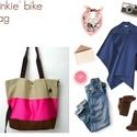 'Pinkie' bélelt bicajtáska ' S' (feyerzsuzsa) - Meska.hu