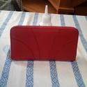 Piros női penztárca, Piros női pénztárca rendelése.