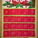 Bagoly adventi naptár, Dekoráció, Ünnepi dekoráció, Karácsonyi, adventi apróságok, Karácsonyi dekoráció, Az adventi időszak örömét és meghittségét semmi sem teszi tökéletesebbé, mint a családdal együtt töl..., Meska