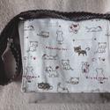 Gyerek táska, Baba-mama-gyerek, Táska, Ruha, divat, cipő, Válltáska, oldaltáska, Lenda vászonból készült gyerek táska, vászon béléssel és állítható vállpánttal.   méret: 17x17x4,5 c..., Meska